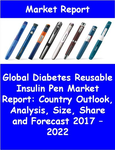 Global Diabetes Reusable Insulin Pen Market Report: Country Outlook, Analysis, Size, Share and Forecast 2017 – 2022 Medical Device