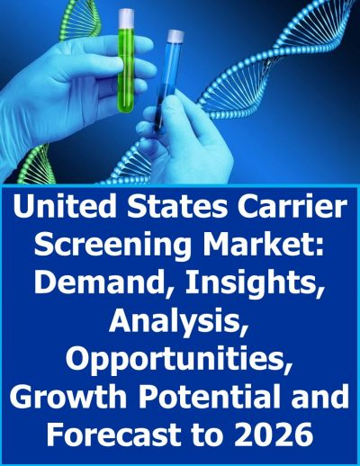 United States Carrier Screening Market: Demand, Insights, Analysis, Opportunities, Growth Potential and Forecast to 2026 Prenatal Testing
